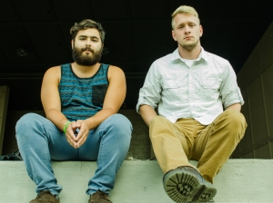 Rydell (left) and Ray (right) have been performing music together for years, but they have been friends for much longer. Photo by Alex Cawthorn.