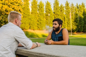 The Kyle David Project has previously performed at venues such as Knoxville's Longbranch Saloon, and they will bring their show to the stage at Vienna Coffee House this Friday. Photo by Alex Cawthorn.