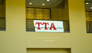 The Tennessee Theatre Association (TTA) conference took place from Thurs. Oct. 23 - Sun. Oct. 26, with state schools and theatre programs helping to provide workshops in which actors could hone their skills. Photo by Alex Cawthorn.